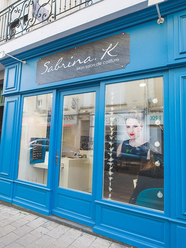 Le Salon Sabrina K Salon Coiffure Angers Bressigny Sabrina K